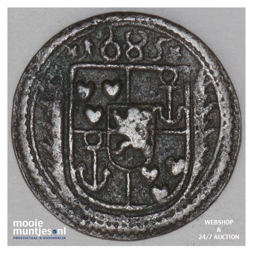 2 pfennig - county / lordship -  - German States/Bentheim-Tecklenburg-Rheda 1685