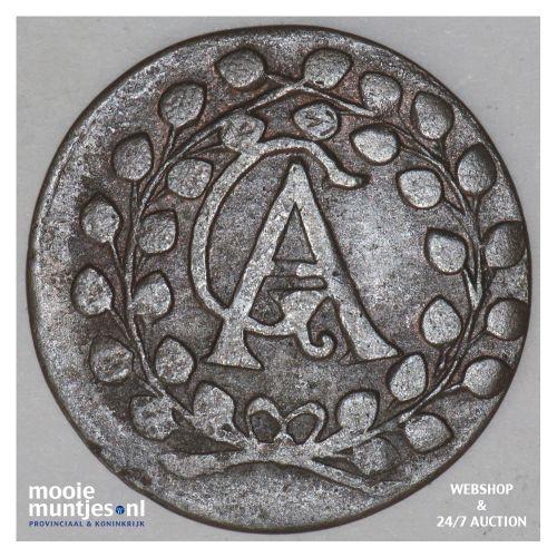3 pfennig - - German States/Mecklenburg-Gustrow 1692 (KM 109) (kant B)
