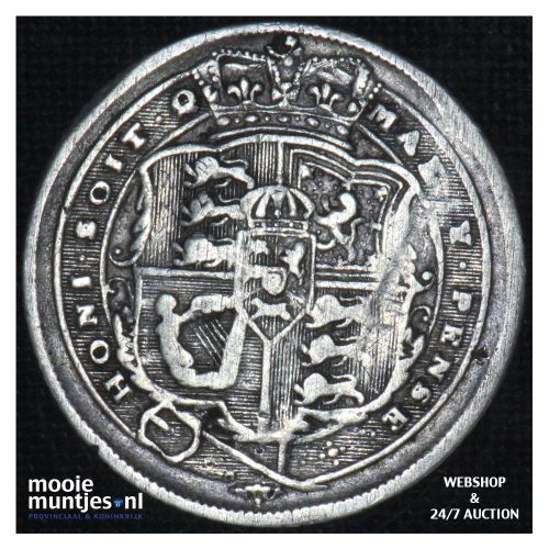 6 pence - Great Britain 1817 (KM 665) (kant B)