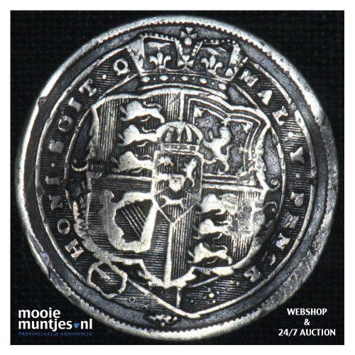 6 pence - Great Britain 1819 (KM 665) (kant B)