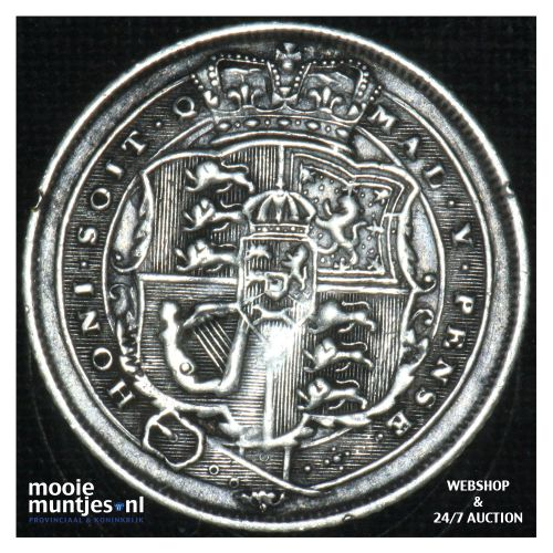 6 pence - Great Britain 1820 (KM 665) (kant B)