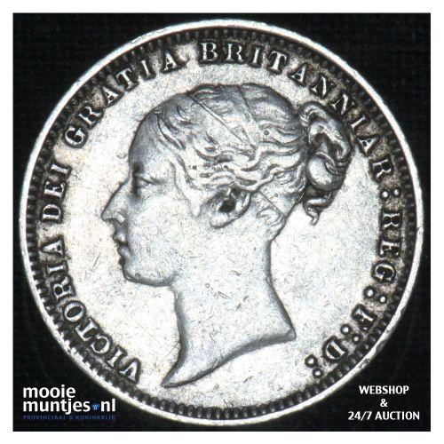 6 pence - Great Britain 1877 (KM 751.2) (kant B)