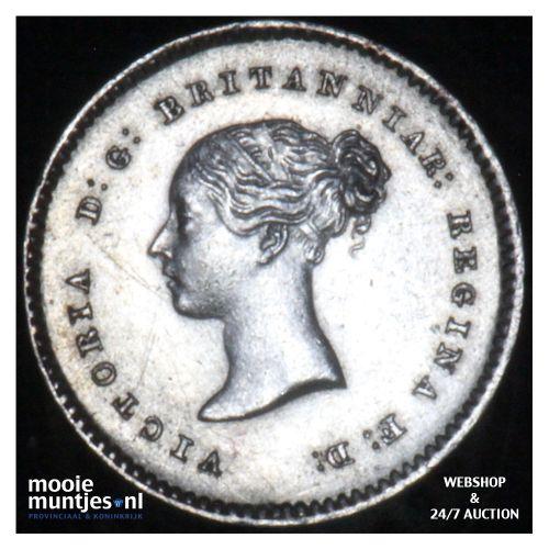 2 pence - Great Britain 1838 (KM 729) (kant B)