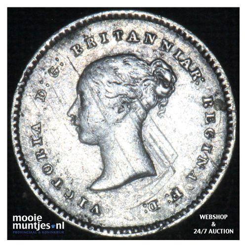 2 pence - Great Britain 1848 (KM 729) (kant B)