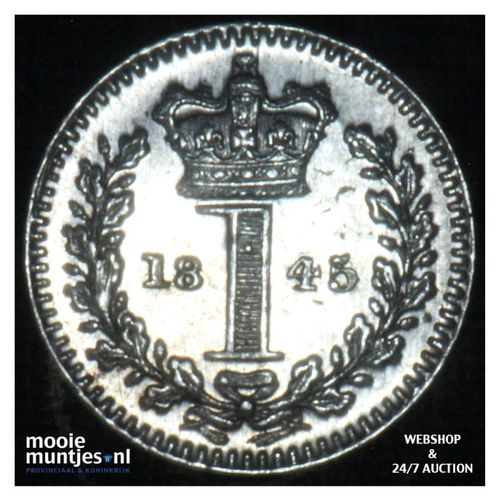 penny - Great Britain 1845 prooflike (KM 727) (kant A)