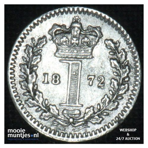 penny - Great Britain 1872 prooflike (KM 727) (kant A)