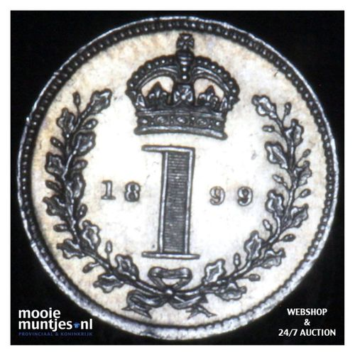 penny - Great Britain 1899 prooflike (KM 775) (kant A)