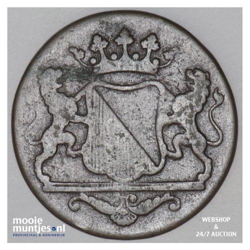 Nederlands-Indië - Dubbele duit - 1790 (kant B)