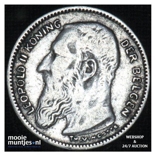 50 centimes - Belgium 1907 (KM 61.1) (kant B)