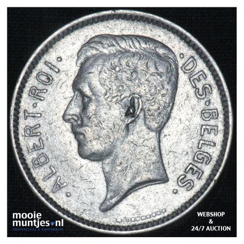 5 francs (5 frank) - Belgium 1932 (KM 97.1) (kant B)