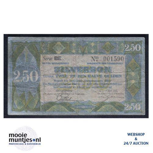2½ gulden - 1918 (Mev. 12-4b / AV 10) (kant A)