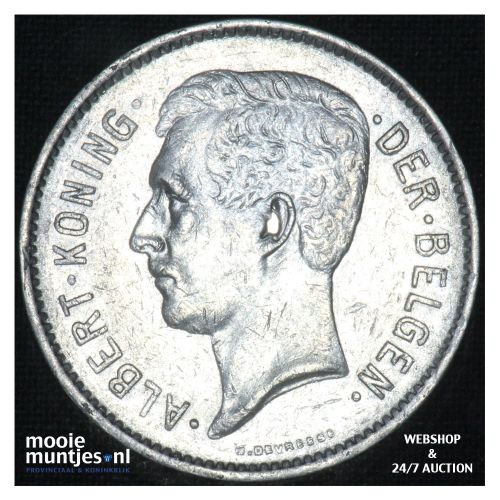 5 francs (5 frank) - Belgium 1931 (KM 98) (kant B)