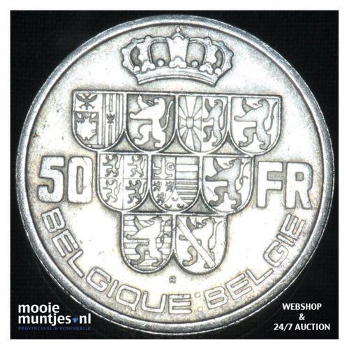 50 francs (50 frank) - Belgium 1940 (KM 121) (kant A)
