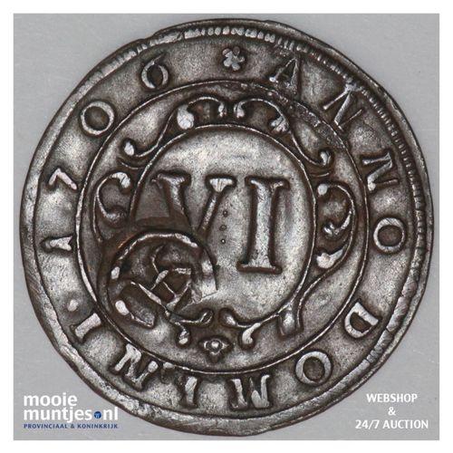 6 pfennig - boshopric - - German States/Paderborn 30 (KM 173.2) (kant A)