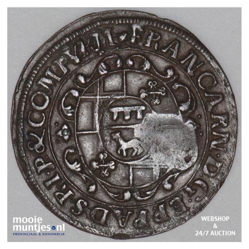 6 pfennig - boshopric - - German States/Paderborn 30 (KM 173.2) (kant B)