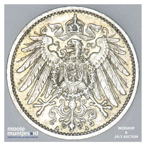 mark - Germany 1901 A (KM 14) (kant B)