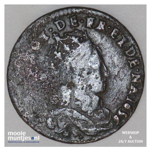 liard - France 1656 B (Rouen) (KM 192.2) (kant A)