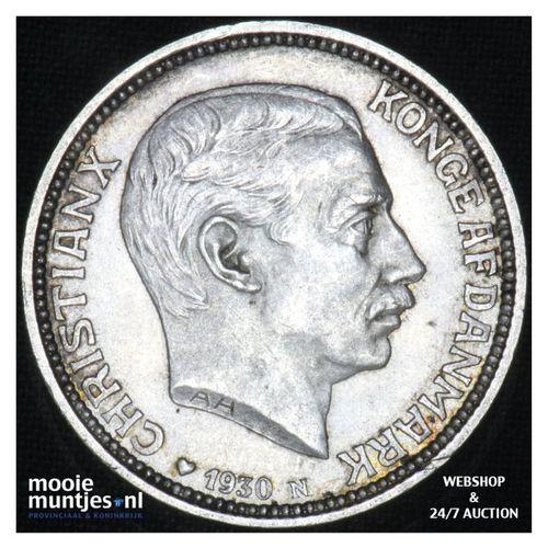 2 kroner - Denmark 1930 (KM 829) (kant A)