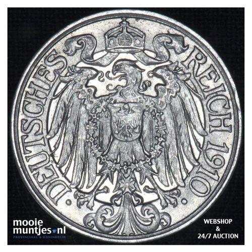 25 pfennig - Germany 1910 A (KM 18) (kant A)