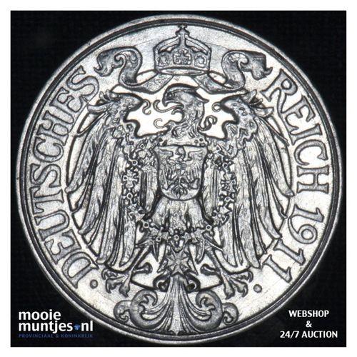 25 pfennig - Germany 1911 A (KM 18) (kant A)