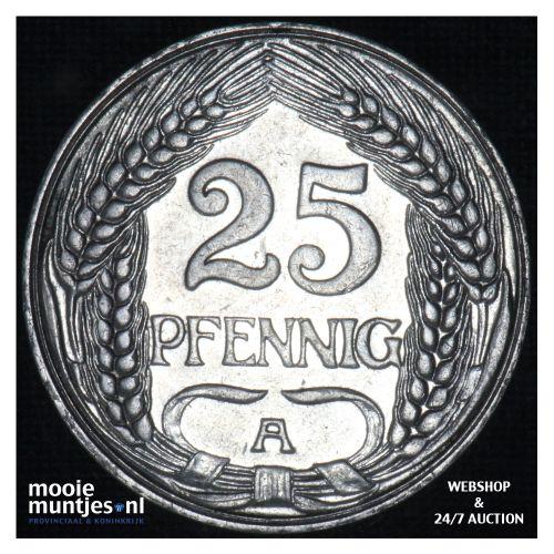25 pfennig - Germany 1911 A (KM 18) (kant B)
