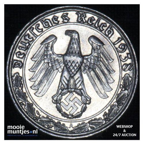 50 reichspfennig - Third Reich 1938 A (KM 95) (kant A)