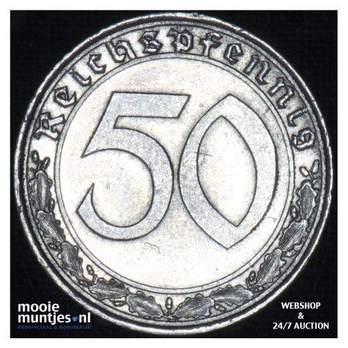 50 reichspfennig - Third Reich 1938 A (KM 95) (kant B)