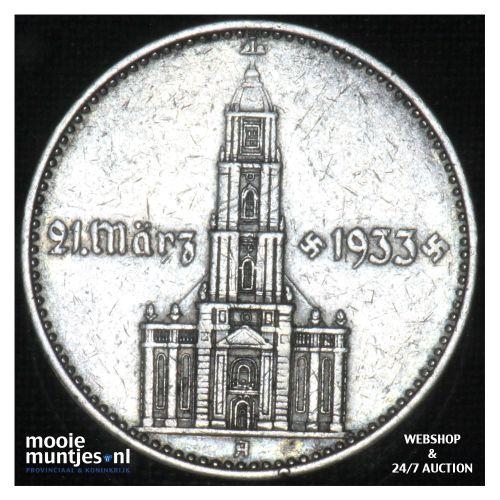 2 reichsmark - Third Reich 1934 A (KM 81) (kant B)
