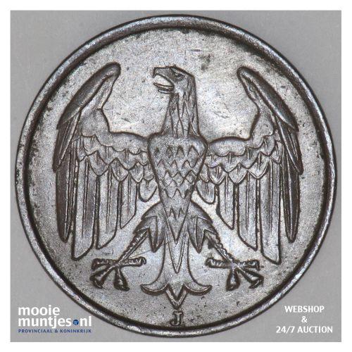 4 reichspfennig - Weimar Republic 1932 J (KM 75) (kant B)