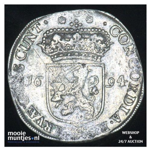 Zeeland - Zilveren dukaat - 27.92 (kant A)