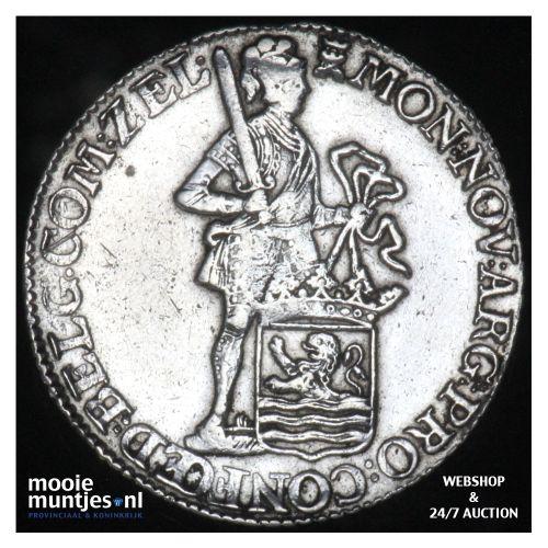 Zeeland - Zilveren dukaat - 1774 (kant B)