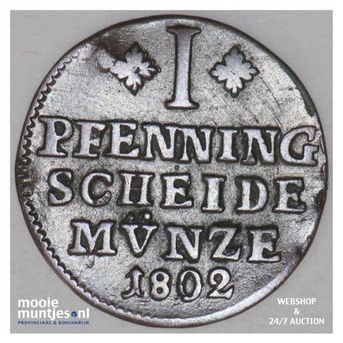 pfennig - German States/Brunswick-Wolfenbuttel 1802 (KM 995) (kant A)