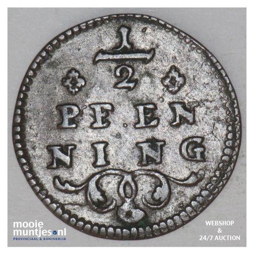 1/2 pfenning - bishopric - German States/Wurzburg z.j. - no date (KM 367.2) (kan