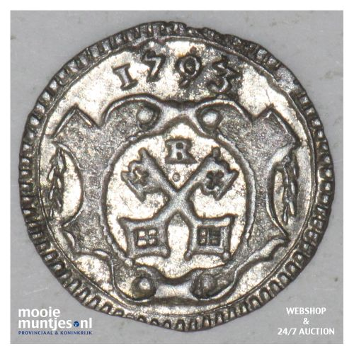 pfennig - free city - German States/Regensburg 1793 (KM 462) (kant B)