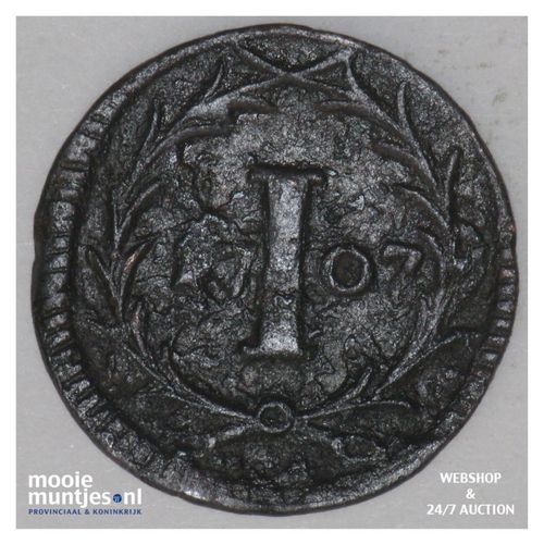 pfennig - (cathedral chapter) - German States/Munster 1707 (KM 416) (kant A)