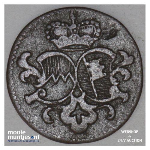 1/2 pfenning - German States/Wurzburg z.j. - no date (KM 367.2) (kant B)