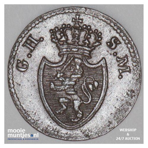pfennig - grand duchy - German States/Hesse-Darmstadt 1819 (KM 280) (kant B)