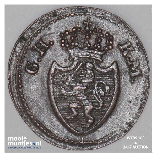 pfennig - grand duchy - German States/Hesse-Darmstadt 1819 (KM 283) (kant B)