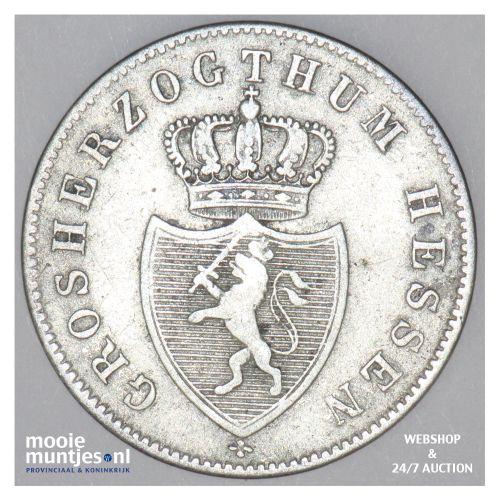6 kreuzer - grand duchy - German States/Hesse-Darmstadt 1841 (KM 306) (kant B)