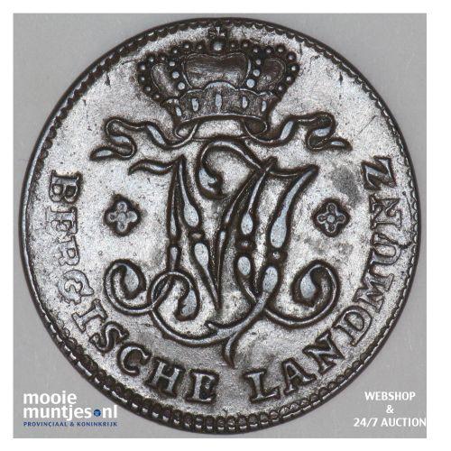1/2 stuber - duchy - German States/Berg 1802 (KM 2) (kant B)