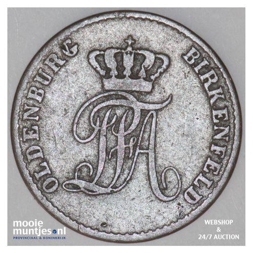 2 pfennige - German States/Birkenfeld 1848 (KM 7) (kant B)