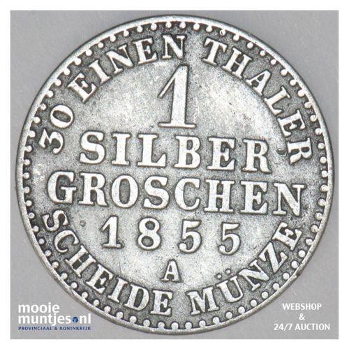 silbergroschen - joint coinage - German States/Anhalt-Bernburg 1855 (KM 95) (kan