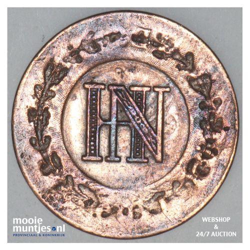 centime - (french standard coinage) - German States/Westphalia 1809 (KM 107) (ka