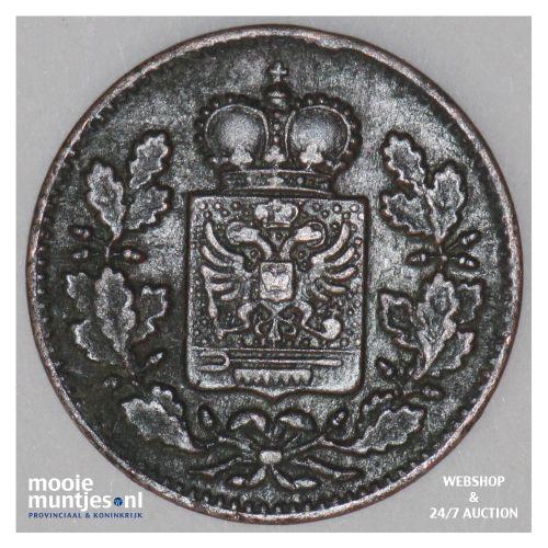 1/4 kreuzer - German States/Schwarzburg-Rudolstadt 1866 (KM 175) (kant B)