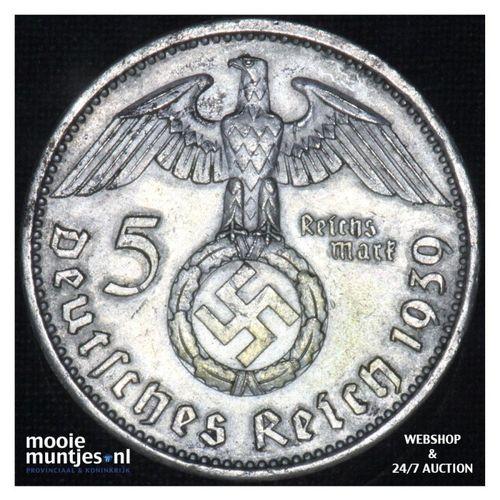 5 reichsmark - Third Reich 1939 A (KM 94) (kant A)