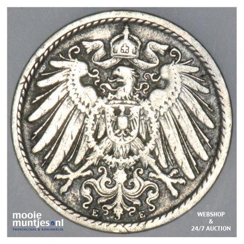 5 pfennig - Germany 1902 E (KM 11) (kant B)