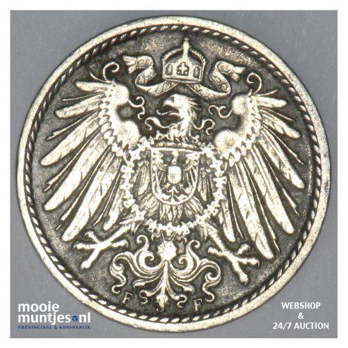 5 pfennig - Germany 1902 F (KM 11) (kant B)