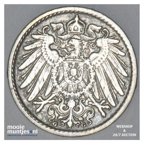 5 pfennig - Germany 1904 G (KM 11) (kant B)
