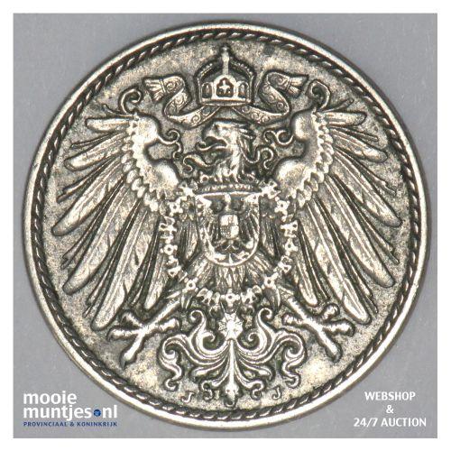 5 pfennig - Germany 1915 J (KM 11) (kant B)
