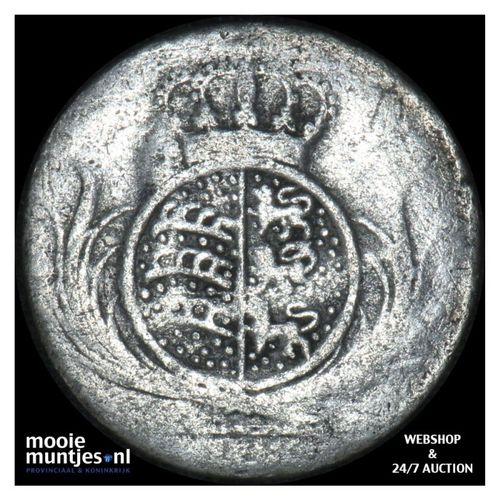 6 kreuzer - kingdom (regular coinage) - German States/Wurttemberg jaartal onlees